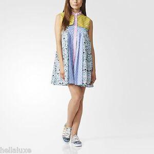 NWT-Adidas-Originals-MARY-KATRANTZOU-WINDPARKA-DRESS-Shirt-supergirl-Women-sz-XL