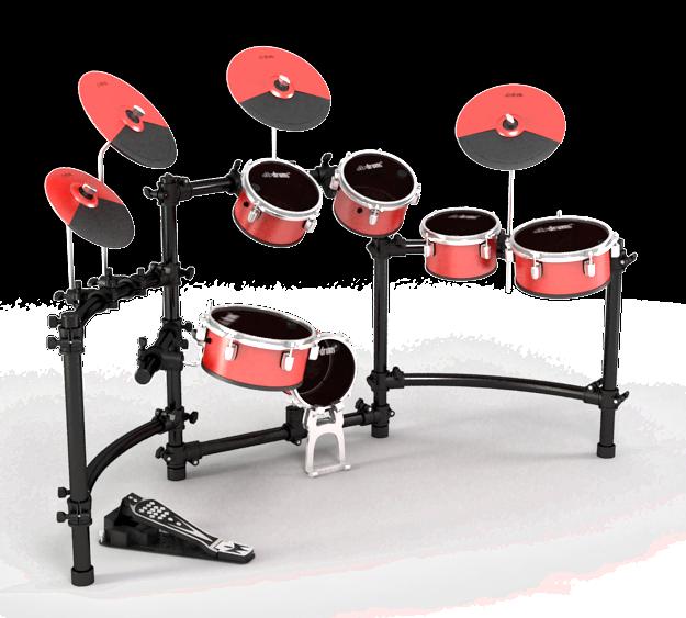 Electronic drums Jaguar Master db20 dbdrums digital drums mesh drumheads pads