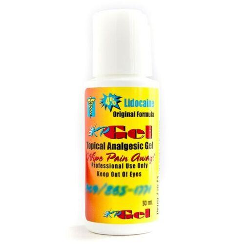Microblading KP Gel TOPICAL ANALGESIC cream Gel PERMANENT MAKEUP TATTOO numb