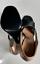Indexbild 8 - Prada Iconic Retro Satin Sandals Shoes Slingback Schuhe Peep Open Toe Pumps 39