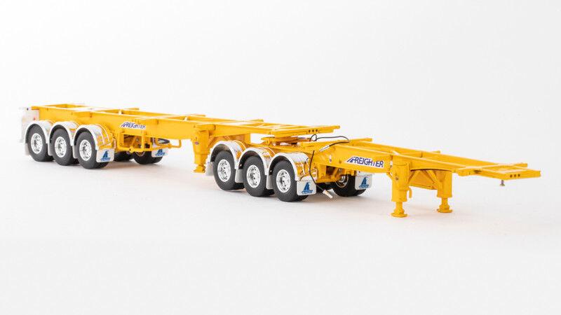 1 50 DRAKE MAXITRANS SKEL jaune B DOUBLE COMBINATION NEW IN BOX ZT09158