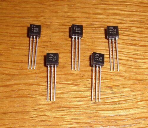 20 Transistors 2 N 4403