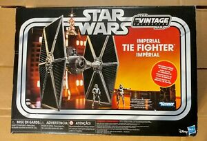 New-STAR-WARS-Imperial-Tie-Fighter-W-Pilot-034-The-Vintage-Collection-034