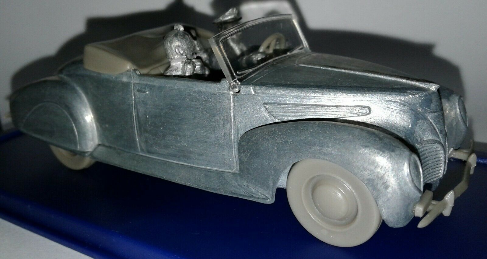 TINTIN & SNOWY Atlas edition 1 43 La Ford T car diecast unpainted predotype