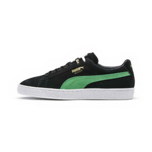 c66deb9e5af1 366307-01  Men s Puma Suede Classic XLarge Green Black  NEW