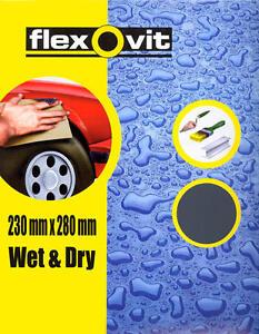 Wet-and-Dry-Sandpaper-Flexovit-1000-Grit-P1000-x3-Sheet