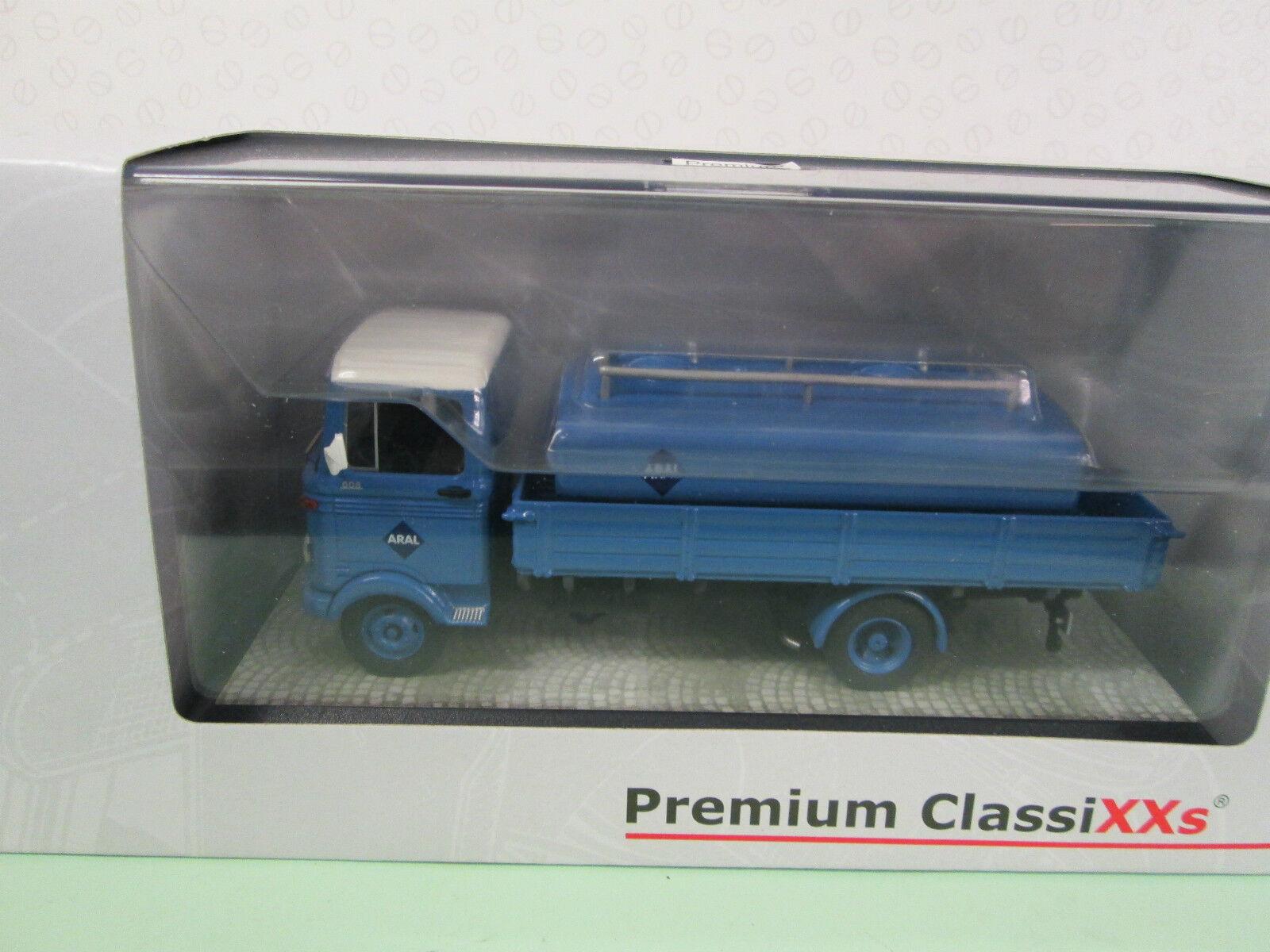 PREMIUM CLASSIXX. Mercedes Benz LP 608. Aral Tanker. 1 43. 12509