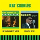 Ray Charles & Betty Carter Dedicated to You Audio CD