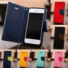 Cute Leather For iPhone 4 5 6/6S 6Plus Wallet Case Cover Stand PU Card Slot Flip