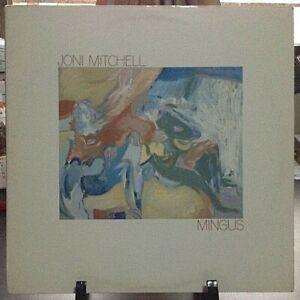 JONI MITCHELL Mingus Released 1979 Vinyl/Record Collection US pressed