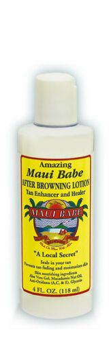 Maui Babe After Browning Lotion 4 oz (small bottle) Moisturizer