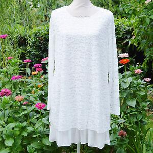 Tunique-Robe-Femme-Grande-Taille-44-46-48-dentelle-blanc-estelle-ZAZA2CATS-new