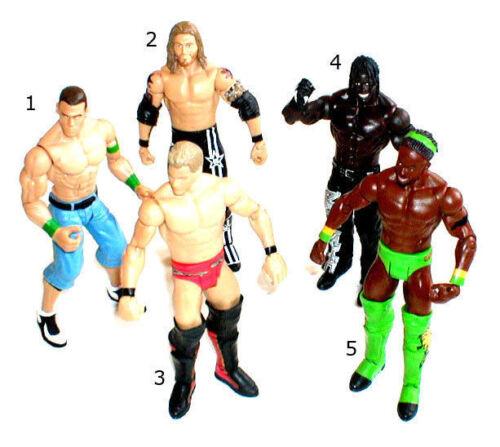 WWF WWE TNA Wrestling Wrestler figures par mattel jerhico cena edge