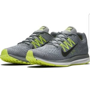 buying now wholesale dealer cost charm Details about NIB Men's Nike Air Zoom Winflo 5 Running Shoes Medium & 4E  Wide Lunar Gray