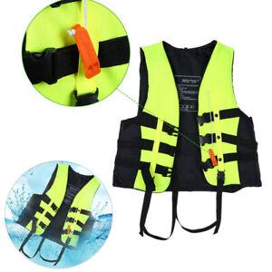 Schwimmweste Erwachsene Kinder Rettungsweste Lifejacket Schwimmen Auftrieb Weste