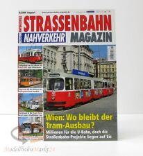 STRASSENBAHN MAGAZIN Nahverkehr 8/2008 August Wien: Tram-Ausbau? GeraMond