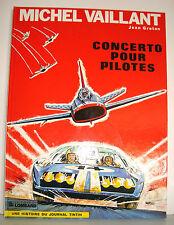 BD MICHEL VAILLANT JEAN GRATON  1984 - CONCERTO POUR PILOTES