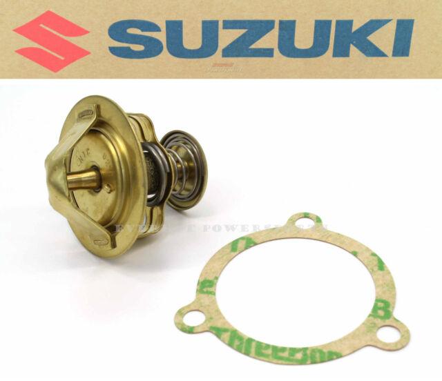 New Genuine Suzuki Thermostat & Gasket GT750 Lemans Kettle 1972-1977 OEM #G09