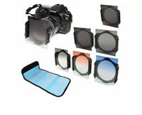 ND2/ND4/ND8 Graduated Filter Kit + 72mm Ring adapter For Cokin p series + case