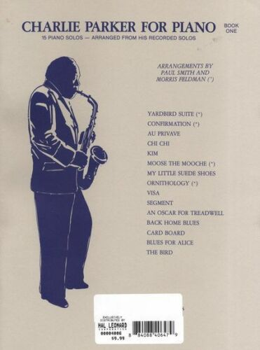 Charlie Parker For Piano Learn to Play JAZZ Blues Keyboard Music Book 1