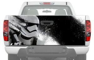 Storm Trooper White Star Wars Tailgate Graphic Decal