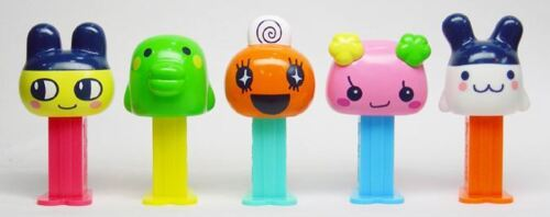 UNOPENED W//INSERTS 28TH OF 49-3//2006 TAMAGACCHI MINI PEZ SET OF 5 FROM JAPAN