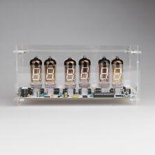 IV-11 VFD TUBE CLOCK DIY MIT FERN und ALARM 6 TUBE LÖT-KIT nixie Ära