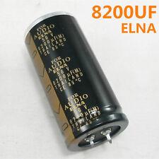 ELNA 8200 uF(M) 56V CE 85°C AUDIO HIFI ELECTROLYTIC Capacitor Cap 8200UF/56V