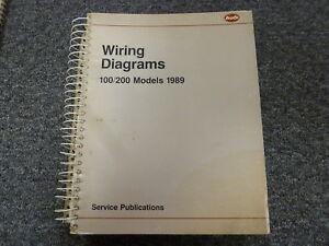 Electric Wiring Diagram Book : 1989 audi 100 & 200 quattro sedan electrical wiring diagram manual