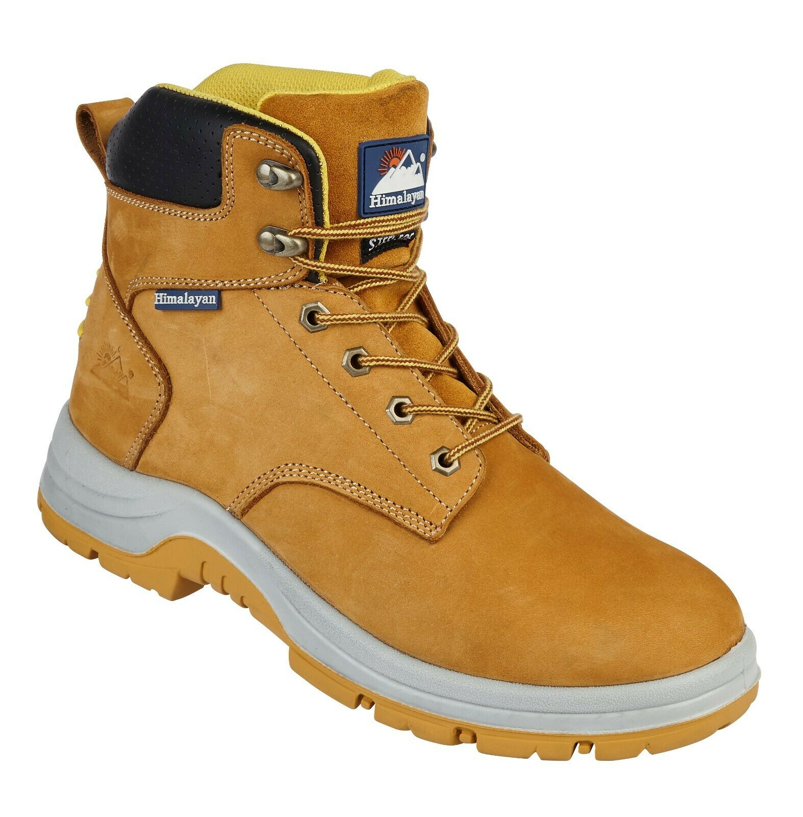 Himalayan 5250 Safety Boots S1P Steel Toe Cap Leather Industrial Work Mens shoes