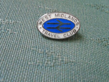 OLDER WEST MIDLANDS TRAVEL CLUB - RAILWAY ENAMEL PIN BADGE