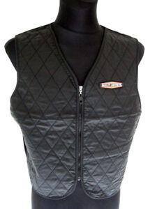 Harley-Davidson-Hydration-Nylon-Weste-Jacke-Herren-schwarz-black-98201-13VM