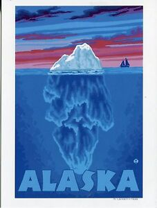 POST-CARD-OF-A-TRAVEL-POSTER-FOR-ALASKA
