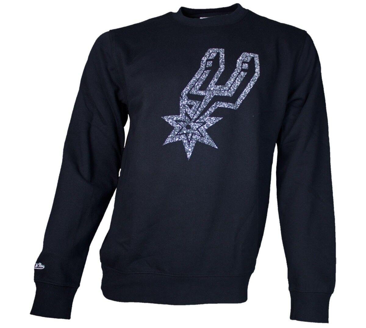 Mitchell & Ness Statici Sweater San Antonio Spurs   NBA   Nero