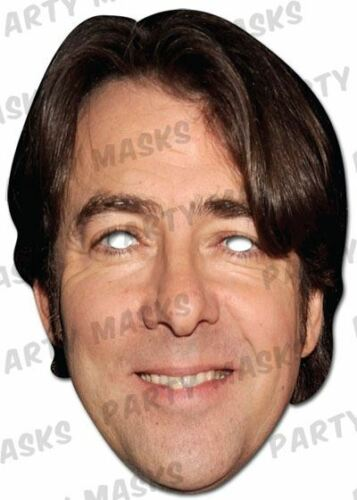 FANCY DRESS Jonathan Ross Celebrity viso carta maschera Imitazione mask-arade