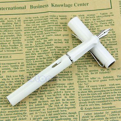 Jinhao 599 Fountain Pens medium  Nib White Fashion Gift