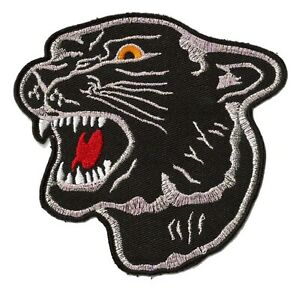 Patch-ecusson-panthere-noire-black-panther-brode-thermocollant