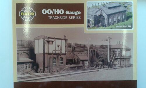 OO//HO Building Kit Engine shed P3 Ratio 522
