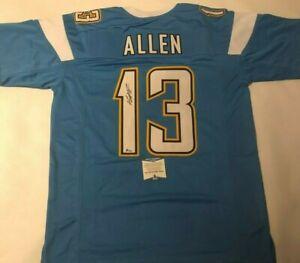 Details about Keenan Allen Autographed Los Angeles Chargers Powder Blue Jersey Beckett COA