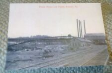 Old Boswell PA. Coal Mine, Power House & Tipple Rare Postcard Repo