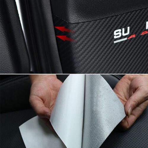 Car B Pillar Anti Scratch Cover Sticker Decal Protector for Subaru Forester 19