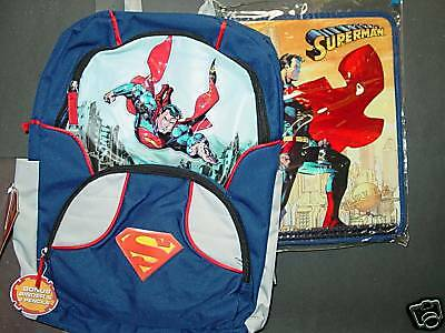 """Kid/'s Back Pack /""""SUPERMAN THE MOVIE/"""" NEW"""
