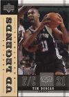 2003 Upper Deck Tim Duncan #77 Basketball Card