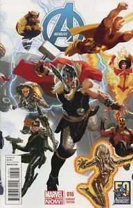 Avengers #16 50th Anniversary Cover Variant Comic Book 2013 NOW - Marvel