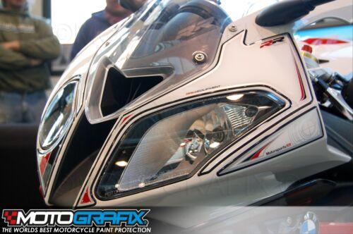 BMW S1000RR 2012 13 14 Front Fairing Number Board Motografix 3D Gel Protector