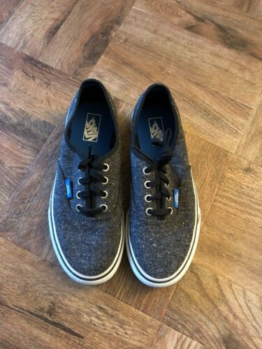 Bombas Gris con cordones o Vans cordones con 1 o Off Tama Juniors Ni Wall Tweed Eur 32 The nfR6Ifq