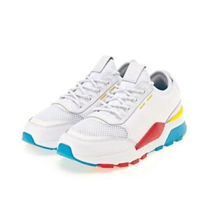 bbcb4abbf9d New PUMA RS-0 Play Sneakers Shoes- White   Hawaiian Ocean ...