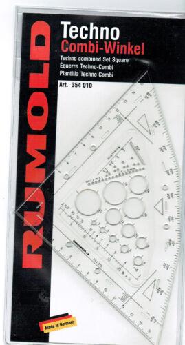 Rumold Universal Zeichenwinkel 354010 Combi-Winkel