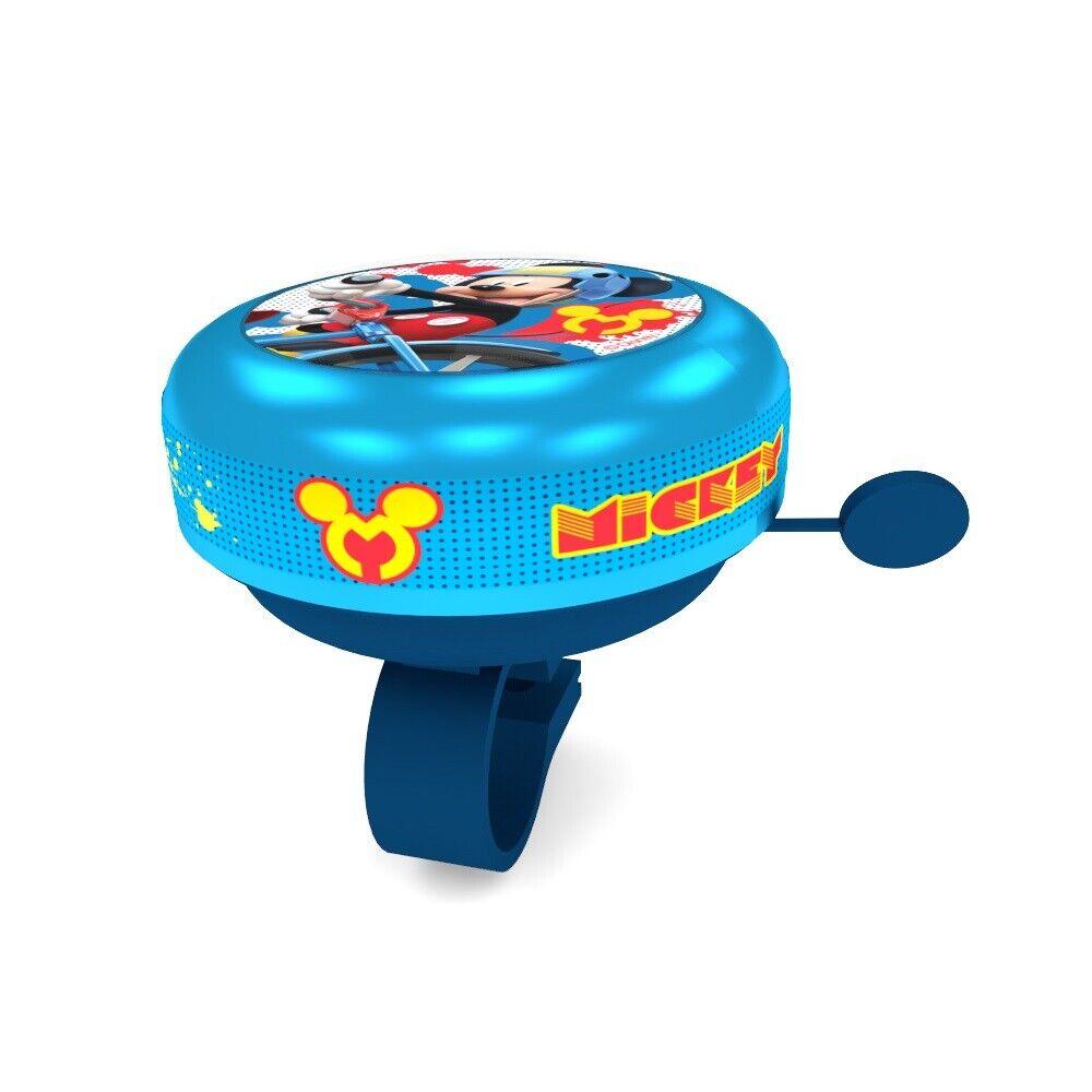 Fahrradklingel Disney MICKEY MOUSE Kinder Glocke Schelle Bimmel Ding Dong Rad