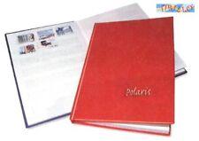 FILATELIA - Album raccoglitore per francobolli - 23,5x17 cm - copertina blu